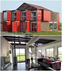 Shipping container houses - a sustainable alternative