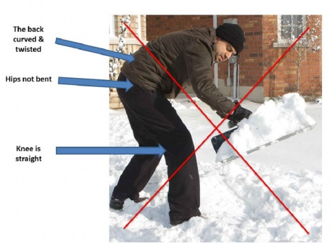 How to Clear your Driveway of Snow without any Back Pains Picture