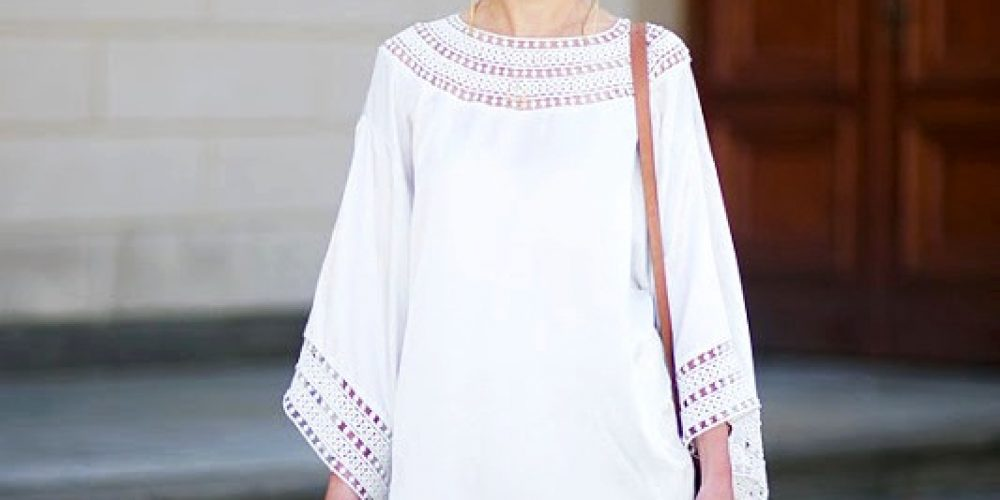 A dress for every occasion – minimalist looks with white dresses