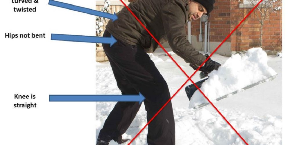 How to Clear your Driveway of Snow without any Back Pains