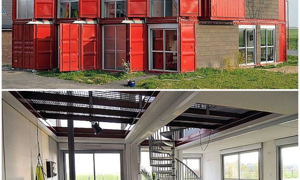 Shipping container houses – a sustainable alternative