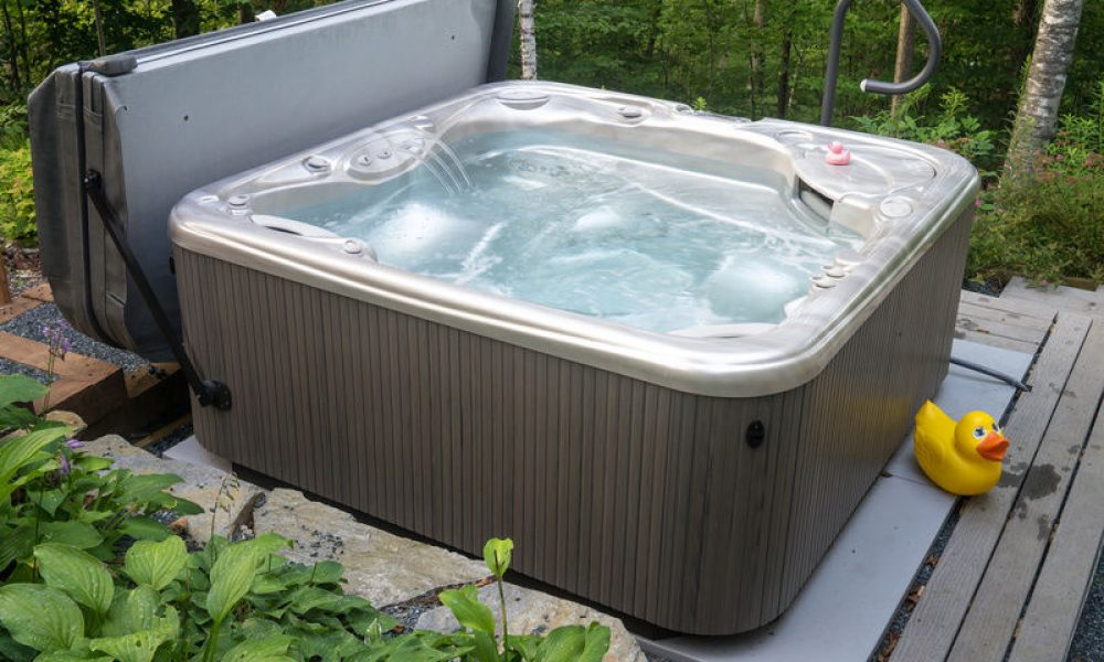 Step by step guide to hot tub installation